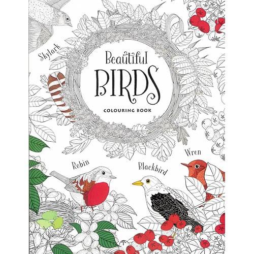 Beautiful Birds Colouring Book - pr_1775346