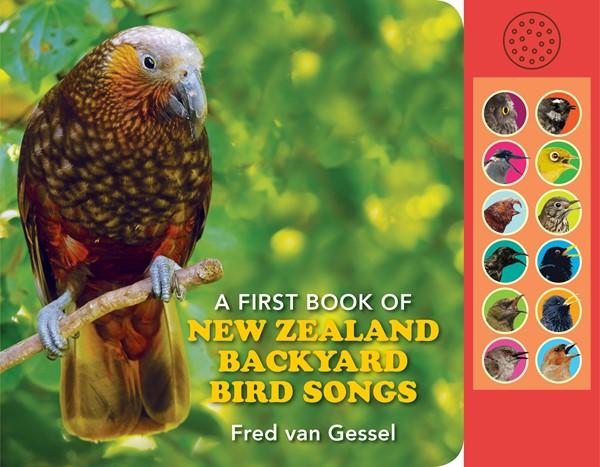 A First Book of New Zealand Backyard Bird Songs - pr_429165