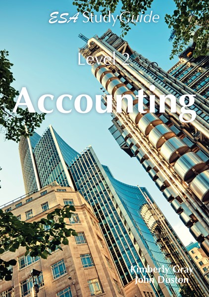 SG NCEA Level 2 Accounting Study Guide - pr_429141