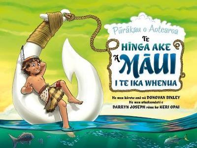 Te Hinga Ake a Maui i te Ika Whenua -